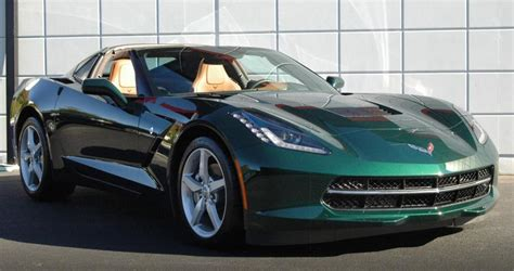 corvette stingray green the official lime rock green stingray corvette photo
