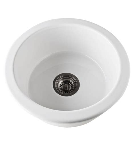 allia fireclay single bowl undermount kitchen sink rohl 6737 63 allia 18 1 8 quot single bowl undermount