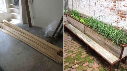 costruire una panchina come costruire una barca in legno fai da te