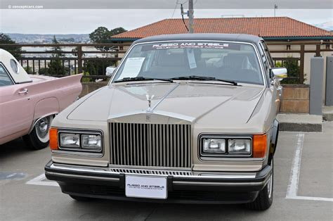 auction results and data for 1988 rolls royce silver spur