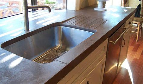 Cement Board Countertop by 9 Exles Of Concrete Countertops Done Right Designcast