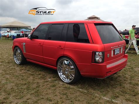 matte sport matte chrome range rover sport vehicle customization
