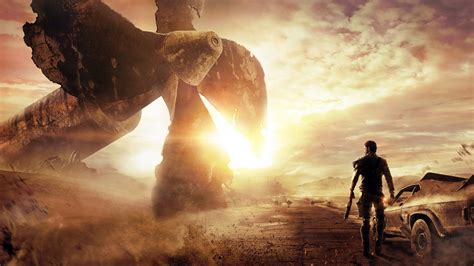 wallpaper mad max  games  game shooter pc ps