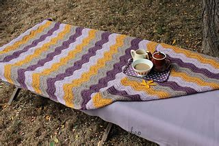 Crocheting A Blanket For Dummies by Ravelry Simple Ripple Blanket Project Pattern By