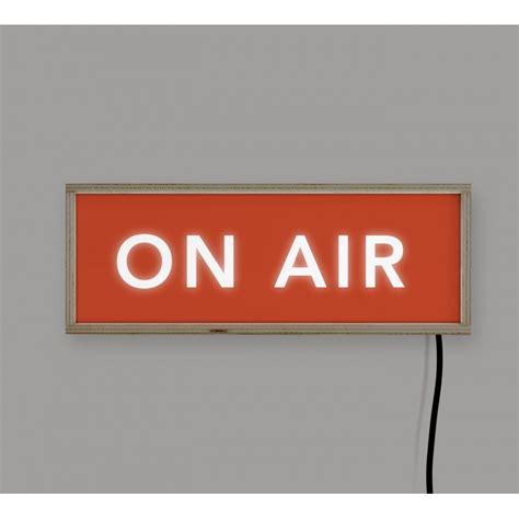 On Air In lightbox on air 40x15 reallynicethings