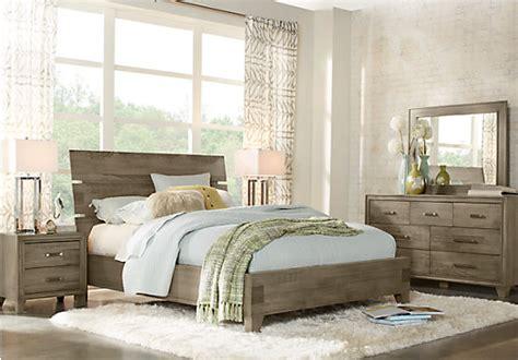crestwood creek gray 7 pc panel bedroom 1 399 99
