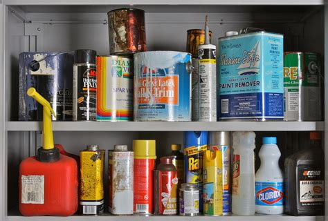Hazardous Household Products | garbage recycling