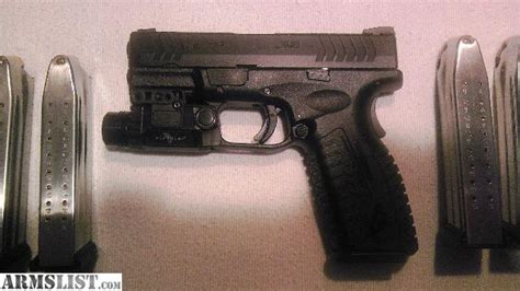 springfield xdm laser light object moved