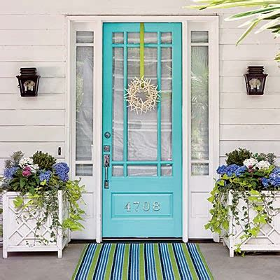 Decorating With Color Front Door Color Ideas Front Door Makeover Ideas