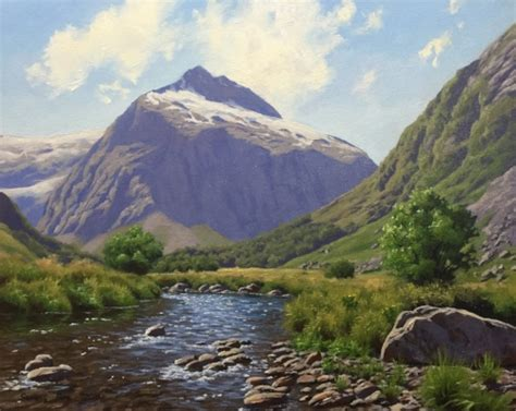how to paint a mountain landscape a step by step guide
