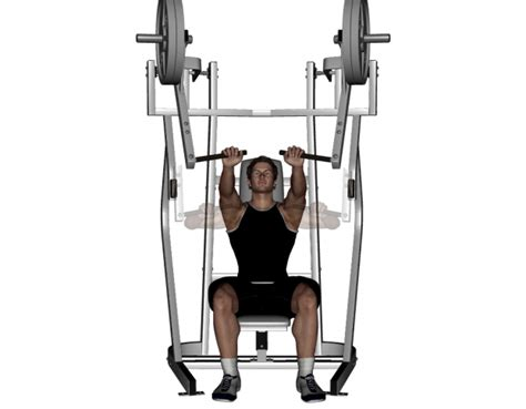 seated bench press machine chest workout journeythatislife