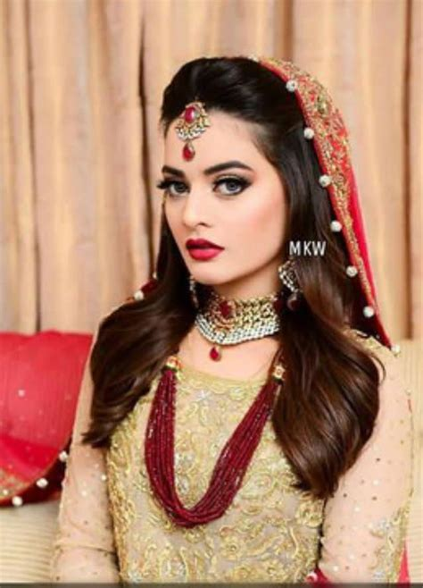 Gq Sania Style Set bridal shoot pictures of minal khan fashion