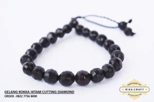 Gelang Asli Kokka Kaukah Model Cutting Coklat gelang kaukah asli hitam cutting 171 jual gelang