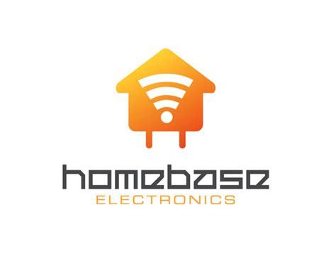logo instant home base electronics logo free logo instant