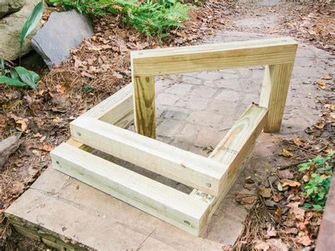 build outdoor wood steps  tos diy