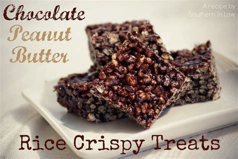 peanut butter treats southern in recipe chocolate peanut butter rice crispy treats