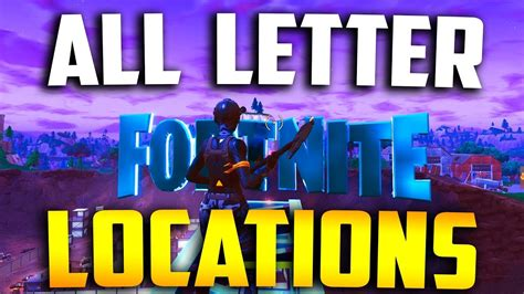 Fortnite Letters Week 1