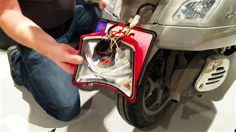 Led Rücklicht Vespa Gts 300 by Vespa Gts Led Brake Light Upgrade