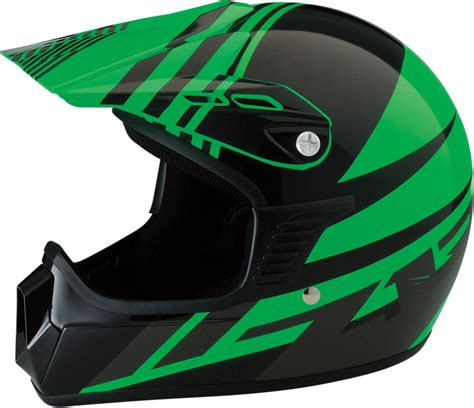 green motocross helmet z1r roost se motocross dirt bike motorcycle helmet