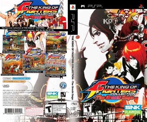 juegos psp csoisoeboot  king  fighters collection