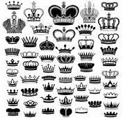 Royal Crown Vintage Design Vectors 05  Vector Other Free Download