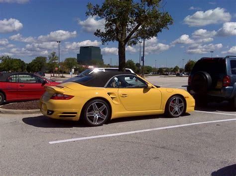 yellow porsche 911 yellow porsche 911 turbo 997 cabriolet 1 madwhips