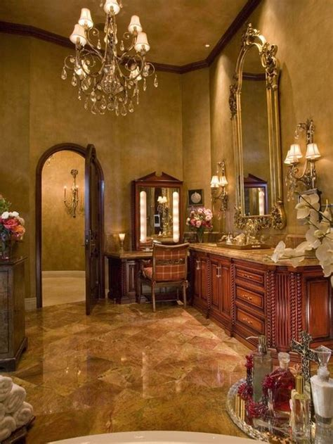 amazing bathroom  victorian style  marble floor