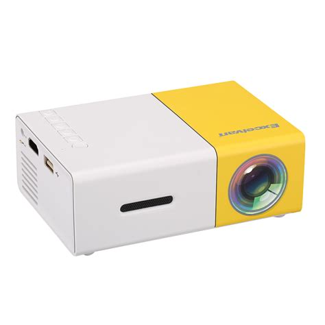 Proyektor Mini Hdmi yg300 led hd 1080p mini projector usb av sd hdmi home