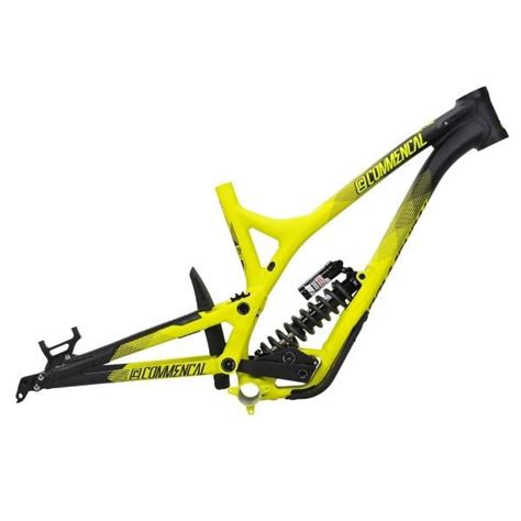 commencal supreme dh frame commencal supreme dh v4 vip rs 27 5 quot mtb frame yellow