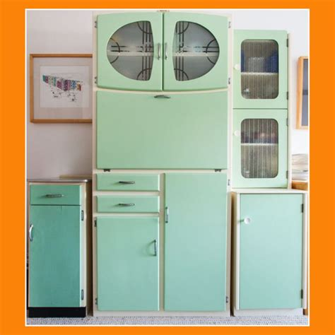 Retro Cabinets Kitchen We Vintage Kitchen Larder Units Vintage Shop Retro China Glassware Kitchenalia