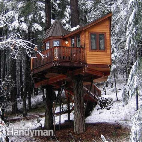 tree house builders tree house building tips the family handyman