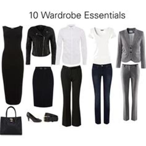 10 Wardrobe Essentials by Basic Wardrobe Essentials On Work Wardrobe
