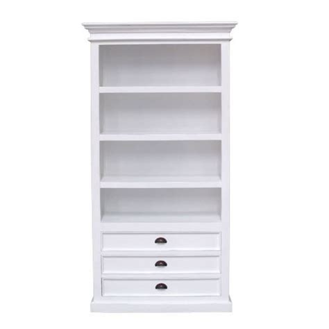 bookcase white white bookcase with drawers american hwy