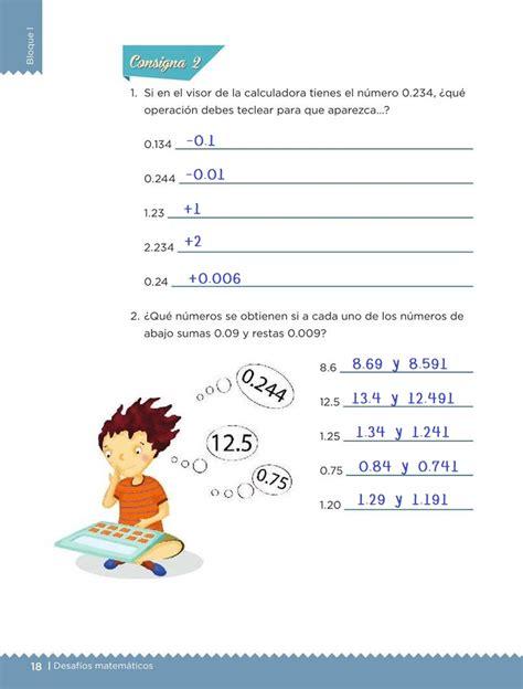 desafios 3 contestado libro de desafios matematicos de 3 grado contestado p