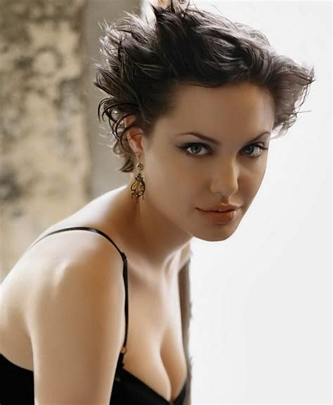 33 Angelina Jolie Hairstyles Angelina <a href=