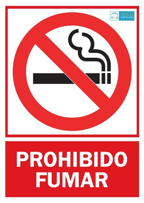 prohibido fumar pin prohibidofumarjpg on