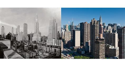 new york then and cityscape new york then and now wfuv