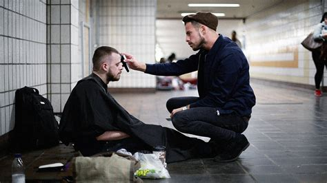 haircuts homeless if you re homeless this london stylist will give you a