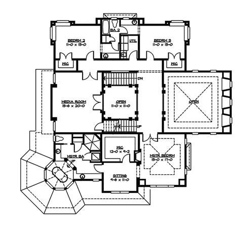 gracie mansion floor plan amalfi luxury craftsman home plan 071s 0043 house plans