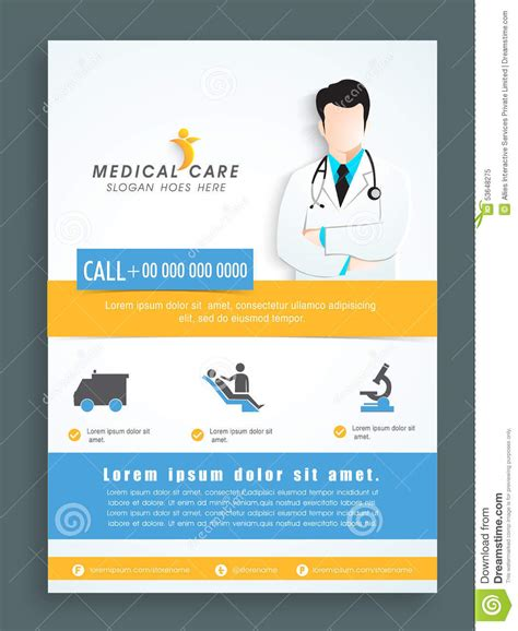health care card template tri fold business card template business card sle