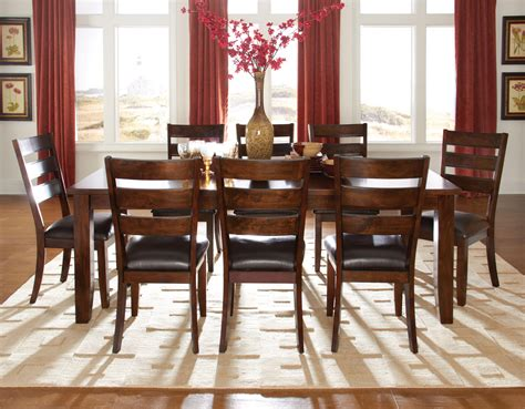9 pc dining room set 9 pieces dining room sets home design ideas
