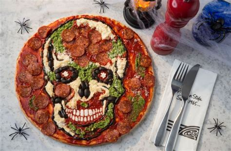 Scary Pizza pizza express is now doing scary clown pizzas for metro news