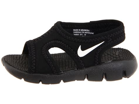 nike sandals for nike sunray 9 infant toddler at zappos