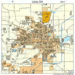 Lima Ohio Map by Lima Ohio Street Map 3943554