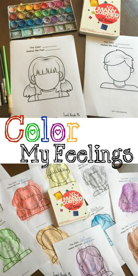 dr seuss my many colored days color my feelings my many colored days teach beside me