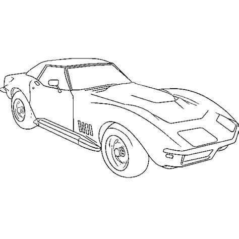 free coloring pictures of muscle cars cars and vehicles coloring american muscle car