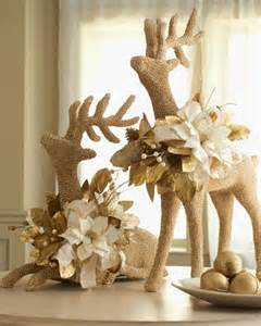 two shell reindeer holiday decor traditional holiday