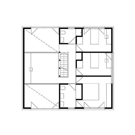 single family home floor plans 171 floor plans gallery of single family house in groharjevo 3biro 11
