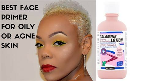 best lotion for acne best primer for or acne prone skin calamine