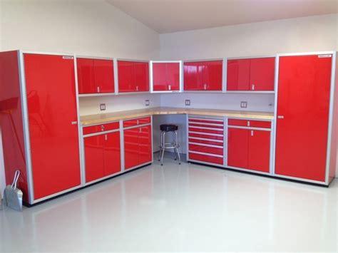 shop storage cabinets garage photos aluminum storage cabinets moduline cabinets part 4